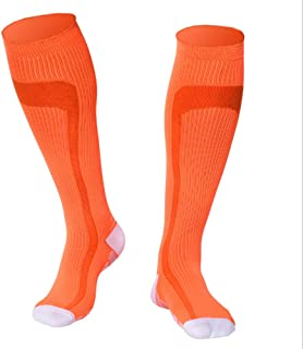 Men Women Sports Stockings for Running Medical Athletic Edema Diabetic Varicose Veins Travel Pregnancy Shin Splints Shiny Color 1Pair Compression Socks,Fully Breathable