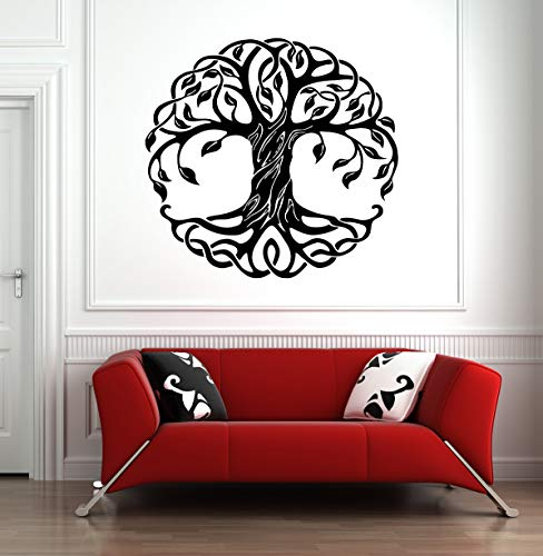 Sticker Star Shop Tree of Life Wall Decal Tree Roots Branch Celtic Pattern Wall Art 1231b