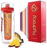 Hydracy Fruit Infuser Water Bottle - 32 oz Sports...
