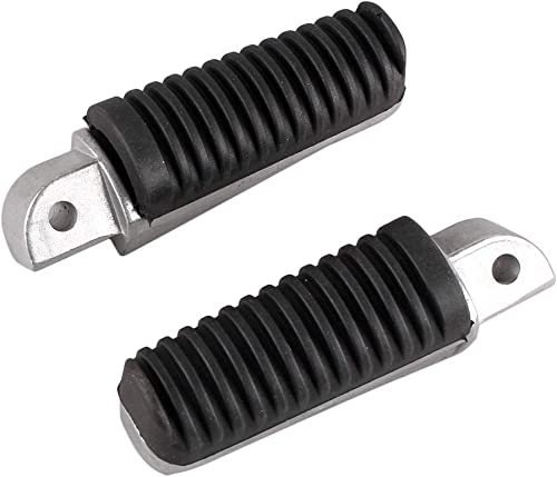 popular Mallofusa Aluminum Motorcycle Rear Foot Pegs sale Footrests Compatible for Yamaha FJR1300 ABS 2003-2013 FZR600 popular 1989-1992 FZ6R 2009-2013 outlet sale