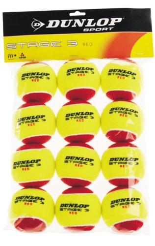 Dunlop Stage 3 rot 12er Packung