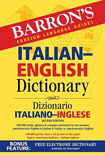 english dictionaries Italian-English Dictionary (Barron's Bilingual Dictionaries)