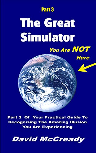 The Great Simulator: Part 3: You are Not Here: Part 3 of your practical guide to recognizing the amazing illusion you are experiencing (English Edition)