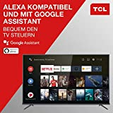 TCL 50EP660 Fernseher 126 cm (50 Zoll) Smart TV (4K UHD, HDR10, Micro Dimming Pro, Android TV, Prime Video, Alexa kompatibel, Google Assistant) Brushed Titanium - 6