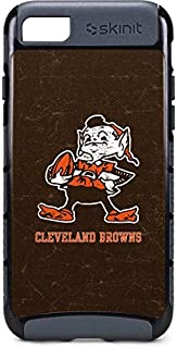 Skinit Cargo Phone Case for iPhone 8 - Officially Licensed NFL Cleveland Browns Alternate Distressed Design