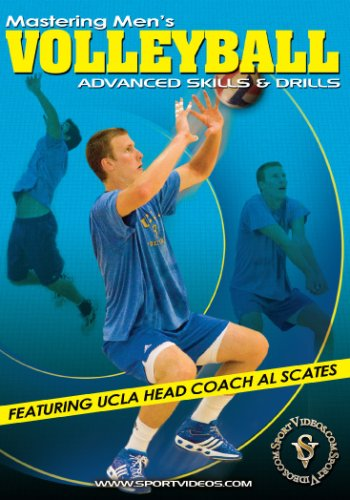 Mastering Mens Volleyball: Advanced Skills and Drills DVD featuring Coach Al Scates