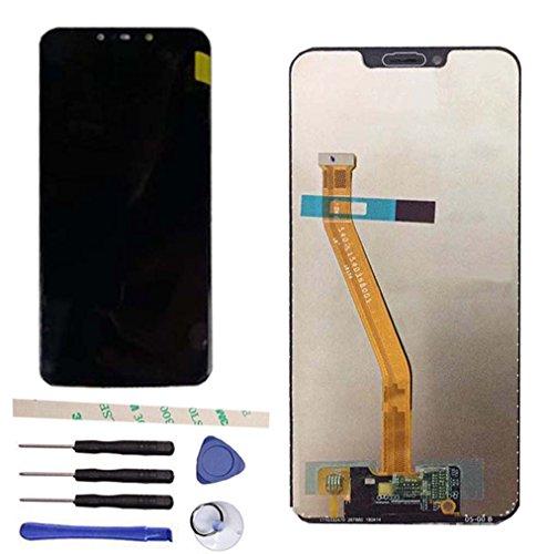 Draxlgon Reemplazo de Pantalla LCD para Huawei Nova 3i Nova3i INE-LX2 / P Smart+ P Smart Plus INE-LX1 INE-L21, Pantalla LCD Pantalla táctil Digitalizador Conjunto de Vidrio (Negro)
