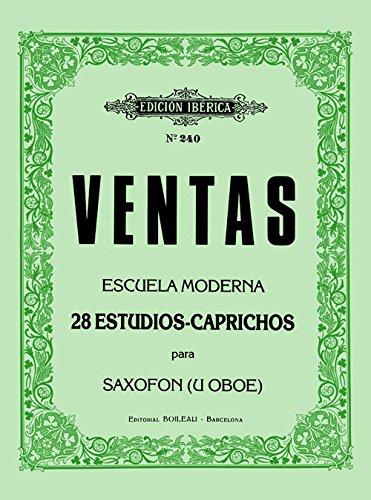 VENTAS A. - Estudios (28) para Saxofon (Oboe)