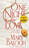 One Night for Love (Dell Historical Romance)