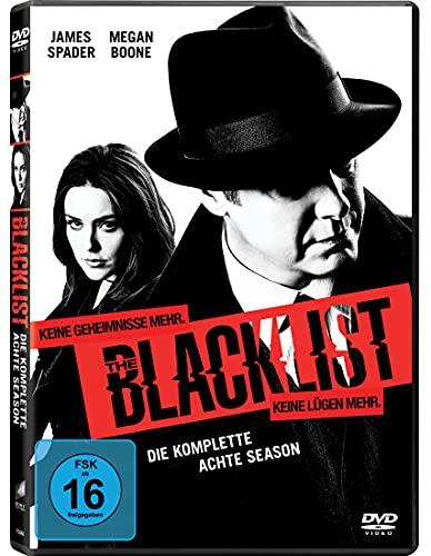 The Blacklist - Die komplette achte Season [6 DVDs]