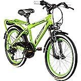 Galano 20 Zoll MTB Jugendfahrrad Adrenalin Kinderfahrrad Mountainbike, Farbe:Grün