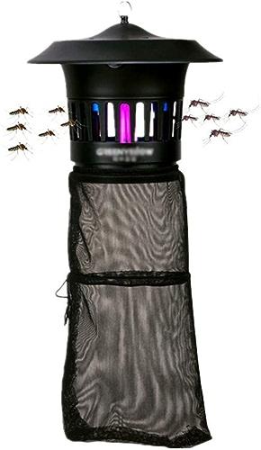 Tueur de moustiques d'extérieur imperméable   Lampe de Moustique Maison   Insecte Vole Mouches Zapper   f4b15d2ecd4758033fe741ed