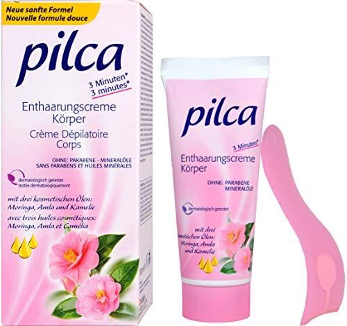 Pilca Enthaarungscreme für den Körper,3er Verpackung (3 x 100 ml)
