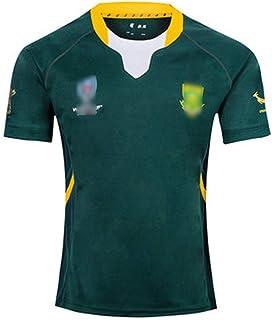 ラグビー 服 南アフリカのラグビーウェアの2019-2020 w杯の代表チームの南アフリカのホームアウェーのユニフォーム、ラグビージャージ 南アフリカラ