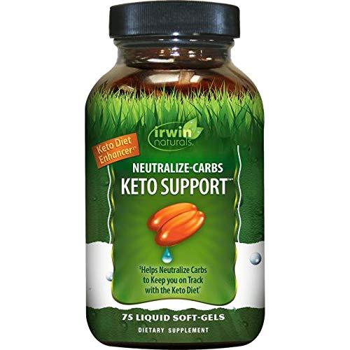 Irwin Naturals Neutralize-Carbs Keto Support 75 Softgels