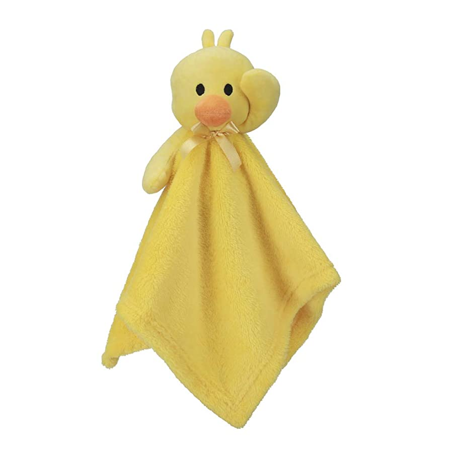 """Pro Goleem Duck Baby Lovey Stuffed Animal Security Blanket for Boys and Girls Gift for Newborn/Infant (Yellow, 15"""")"""