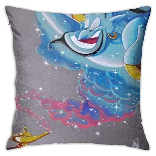 N A Aladdin and The Magic Lamp - Funda de cojín (algodón,...