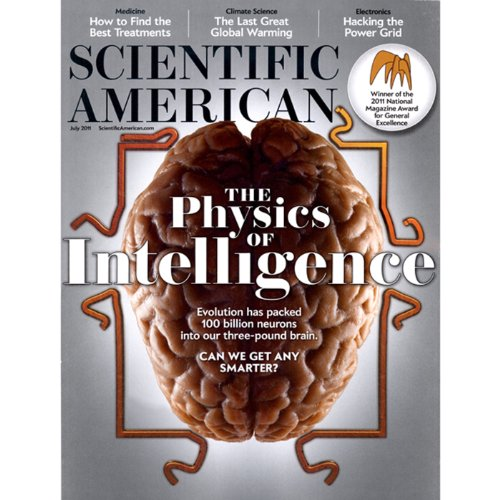 Scientific American, July 2011 cover art