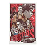 Ghostbusters Bill Murray Movie Vintage Leinwand Poster
