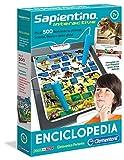 Clementoni - 11999 - Sapientino Interactive Enciclopedia - penna interattiva, gioco educativo elettronico bambini 7 anni, gioco per imparare le parole - Made in Italy