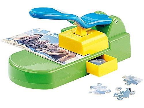 Your Design Puzzlemaschine: Puzzle-Stanzer inkl. 10 Selbstklebende Basis-Kartons 10x15 (Puzzelstanzer)