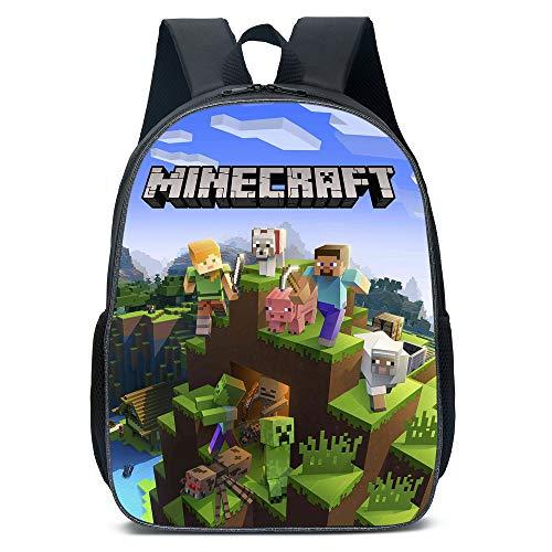 Backpack College Bookbag Laptop Travel Bags Cartoon Bag Durable Daypack for Teen