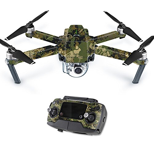 MightySkins Skin Compatible with DJI Mavic Pro Quadcopter Drone - Viper Woodland | Protective, Durable, and Unique Vinyl Decal wrap Cover | Easy to Apply, Remove, and Change Styles | Made in The USA