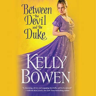 Between the Devil and the Duke                   By:                                                                                                                                 Kelly Bowen                               Narrated by:                                                                                                                                 Ashford McNab                      Length: 11 hrs and 4 mins     308 ratings     Overall 4.6