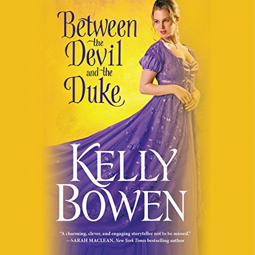 Between the Devil and the Duke audiobook cover art