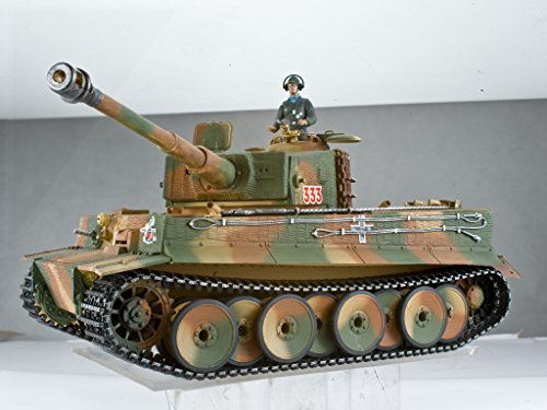 Taigen Tanks Tiger 1 Mid Version Metal Edition 1/16th Scale 2.4GHz RTR RC Tank