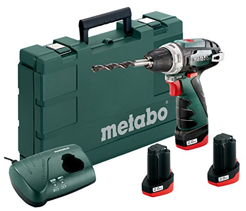 Metabo PowerMaxx BS 600080960 accu-boormachine, 10,8 V, zwart, groen
