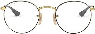 RX3447V Round Metal Eyeglass Frames