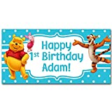 Winnie the Pooh Birthday Banner Personalized...