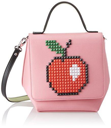 BRACCIALINI TUA Damen Shine Handtasche, Rosa, 20x21.5x13 cm (W x H x L)