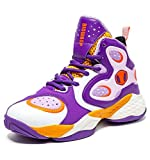BIG WASP Girl's Basketball Shoes High-Top Sports Shoes Non-Slip Cushioning Protection Feet Jogging Shoes Presents for Children