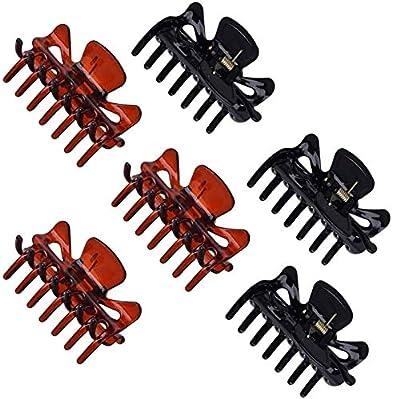 JZZJ Stück Kunststoff Haarspangen