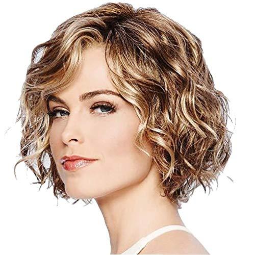haz tu compra pelucas mujer pelo natural corto prime on-line