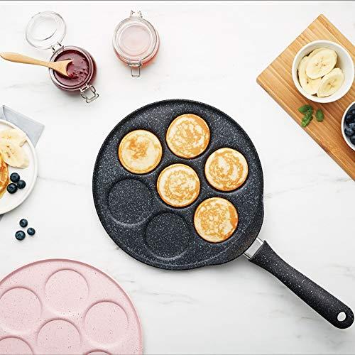 Karaca Mutfaksever Biogranite Pfanne für Pancakes, Grau, Ideale Pfanne zum Braten von Eier und Pfannkuchen, alle Herdarten außer Induktion