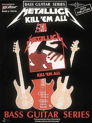 Metallica - Kill 'em All (Play-It-Like-It-Is Bass Series)
