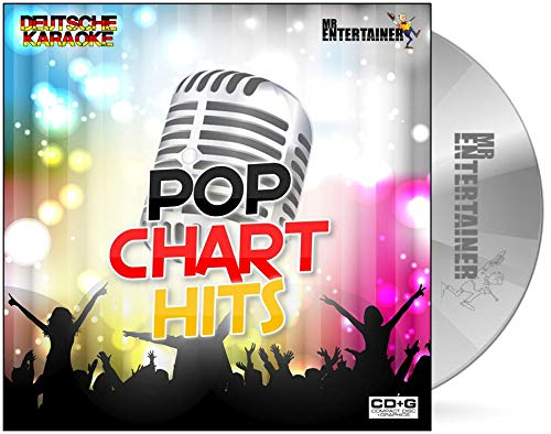 Mr Entertainer Karaoke DEUTSCHE KARAOKE POP CHART HITS CDG. Lieder aus deutschen Popcharts. German Karaoke. Bonez MC, Kitschkrieg, Mero, Capital Bra, Bausa
