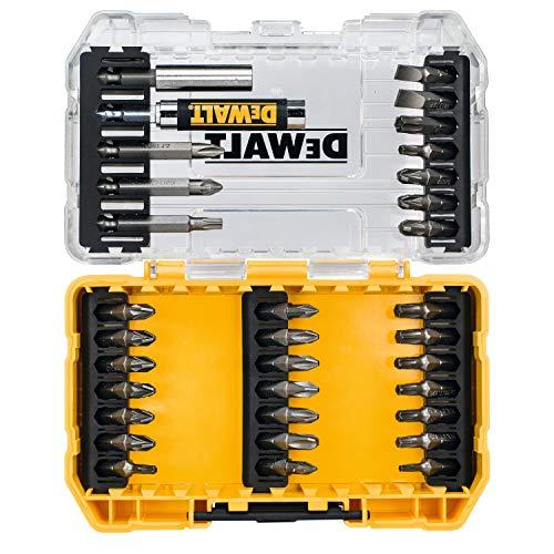 DeWalt DT70709-QZ DT70709-QZ-Tough Case pequeña en blíster de 33 Piezas, Multicolor