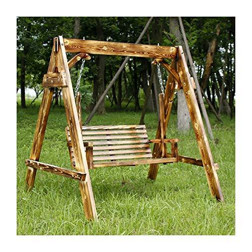Glider de swing grande al aire libre con soporte, Columpios de porche adultos patio muebles porche swing al aire libre columpio banco banco al aire libre pórtico jardín y columpio junto a la piscina