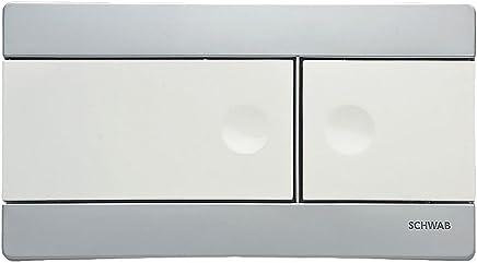 Fluidmaster Schwab onda 227693/dual-flush vampate piastra bianco