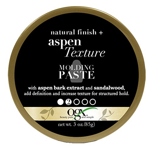 Ogx Aspen Extract Texture Molding Paste 3 Ounce (3 Pack)