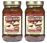 Borden Naturals Mincemeat Pie Filling and Topping | (2) 27 Ounce Jar – Gourmet, All Natural, and Free of High Fructose Corn Syrup!