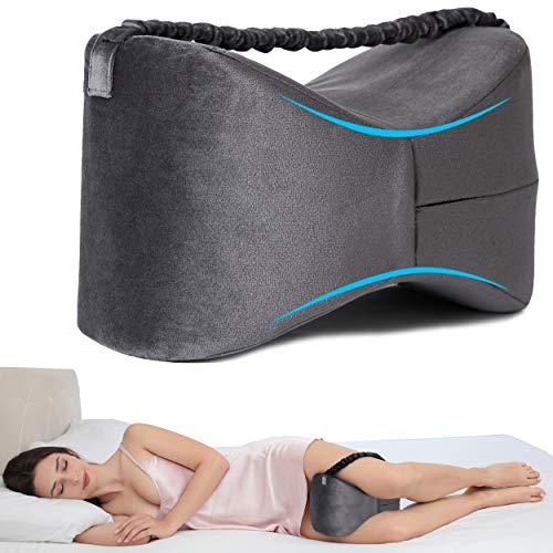 Odoxia Almohada para Las Rodillas | Cojín Ortopédico para Dormir | Ayuda A La Circulación Y A La Postura| para El Alivio De Dolores En Articulaciones, para El Nervio Ciático, Y El Embarazo