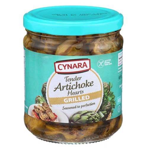 Cynara Grilled Artichoke Hearts, 14.75 Ounce - 6 per case.