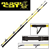 Black Cat Freestyle Rute 2,80m 400g Wallerrute, Welsrute, Angelrute zum Welsangeln, Ruten zum...