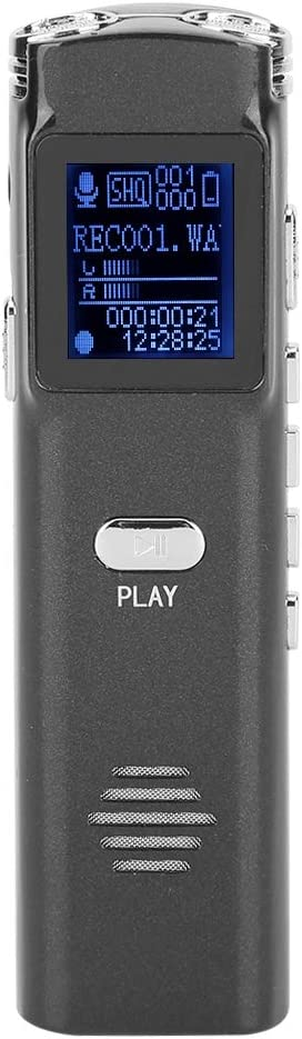 Portable MP3 Audio Recorder 8GB Voice Music Digital Outstanding Recording Max 78% OFF P