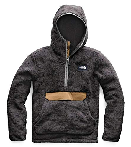 The North Face Men Campshire Pullover Hoodie Night Green/British Khaki Large